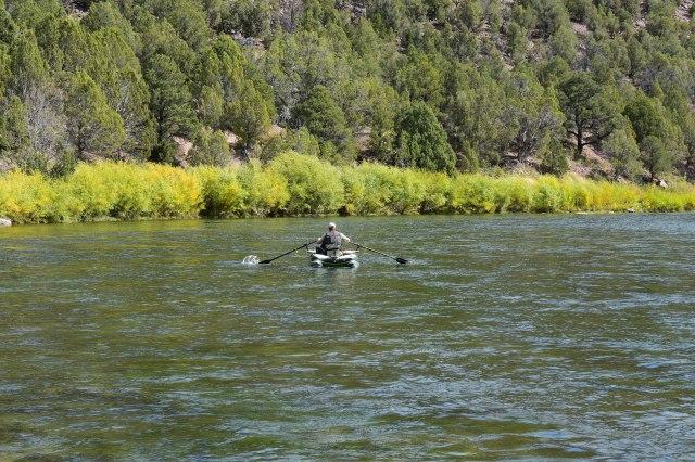Floating Green River