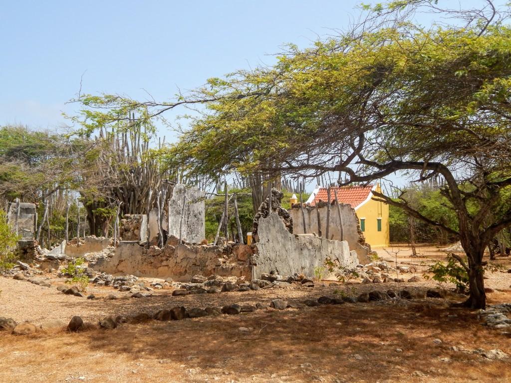 hut ruins